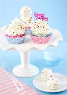 绝不能错过的甜点!高颜值纸杯蛋糕好诱人啊