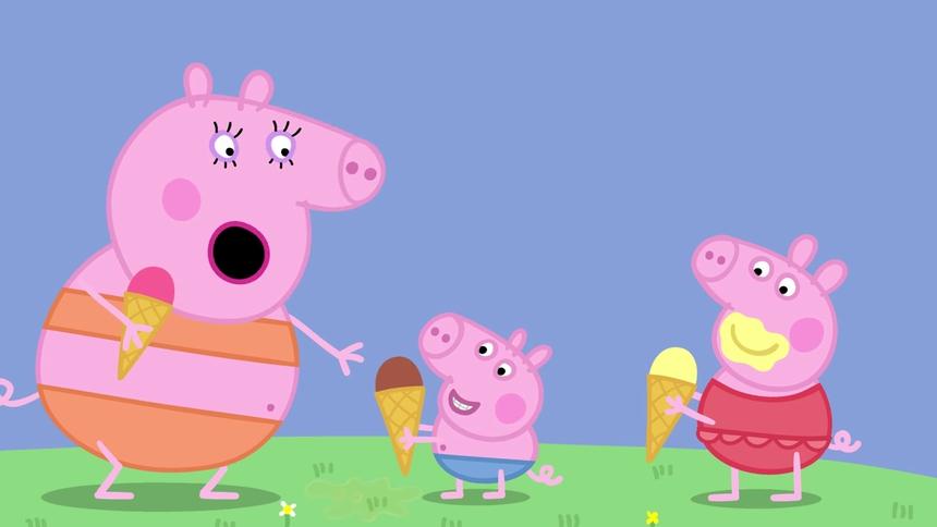 小猪佩奇第一季 英文版 第39集
