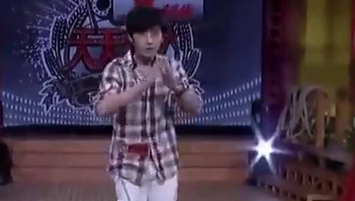 朱一龙《天天向上》表演泰拳