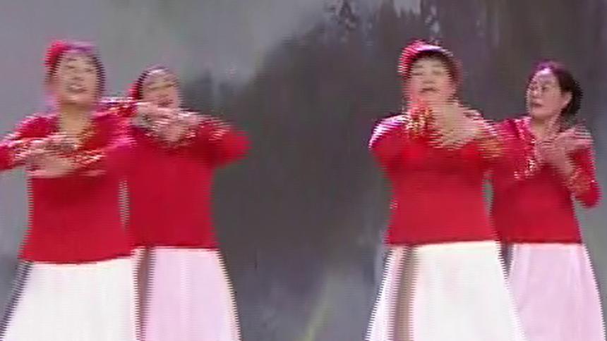 广场舞《红枣树》